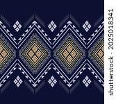 geometric ethnic texture... | Shutterstock .eps vector #2025018341