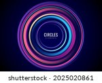 abstract colorful radial...   Shutterstock .eps vector #2025020861