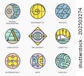 illustrations and logo...   Shutterstock .eps vector #202503274