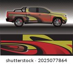 car livery wrap decal  rally... | Shutterstock .eps vector #2025077864
