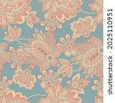 vector batik ornament. ethnic... | Shutterstock .eps vector #2025110951
