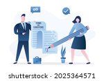 terms and conditions  concept... | Shutterstock .eps vector #2025364571