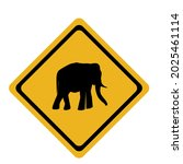 there is an elephant in front... | Shutterstock .eps vector #2025461114