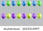 3d sale balloon with percent   Shutterstock .eps vector #2025514997