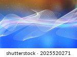 light blue  yellow vector... | Shutterstock .eps vector #2025520271