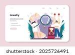 jeweler web banner or landing... | Shutterstock .eps vector #2025726491