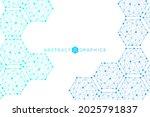 science network pattern ... | Shutterstock .eps vector #2025791837