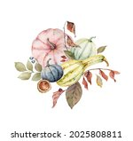 a watercolor bouquet for... | Shutterstock . vector #2025808811