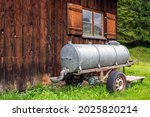 Willow Barrel Wagon On The...