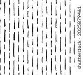 hand drawn striped seamless... | Shutterstock .eps vector #2025879461