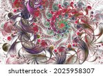Beautiful Fractal Floral Art....