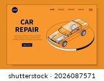 car parts isometric website...