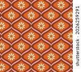 70's retro seamless pattern.... | Shutterstock .eps vector #2026259291