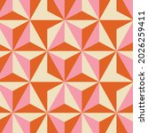 70's retro seamless pattern.... | Shutterstock .eps vector #2026259411