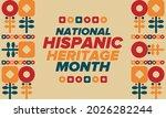 national hispanic heritage... | Shutterstock .eps vector #2026282244