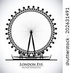 London Design Over White...