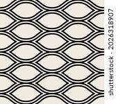 vector seamless pattern. modern ... | Shutterstock .eps vector #2026318907