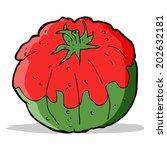 cartoon tomato   Shutterstock . vector #202632181