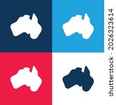 australia blue and red four...   Shutterstock .eps vector #2026323614