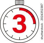 electronic digital stopwatch....   Shutterstock .eps vector #2026352387