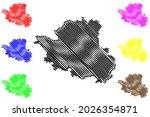 esslingen district  federal... | Shutterstock .eps vector #2026354871