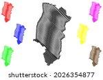emsland district  federal... | Shutterstock .eps vector #2026354877