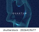 big data background. digital... | Shutterstock .eps vector #2026419677