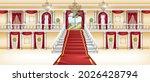 palace interior  vector castle...   Shutterstock .eps vector #2026428794