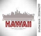 hawaii skyline silhouette