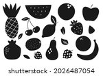 fruit and berry glyph...