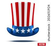 Uncle Sam's Hat. Symbol Of...