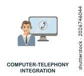 computer telephony integration...   Shutterstock .eps vector #2026746044