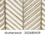 steel fence  | Shutterstock . vector #202680439
