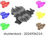 goppingen district  federal... | Shutterstock .eps vector #2026936214