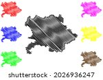 giessen district  federal... | Shutterstock .eps vector #2026936247