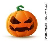 jack o lantern. halloween... | Shutterstock .eps vector #2026945661
