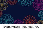 vector. web banner  poster ... | Shutterstock .eps vector #2027038727