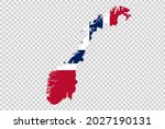 norway flag on map isolated  on ...   Shutterstock .eps vector #2027190131