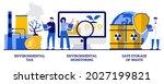 environmental tax ... | Shutterstock .eps vector #2027199821