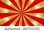 vector golden sunburst...   Shutterstock .eps vector #2027231351