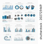 infographic elements big set | Shutterstock .eps vector #202725469