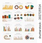 infographic elements big set | Shutterstock .eps vector #202725514