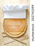 Chef Hat On Cutting Board...