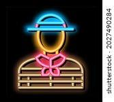 Gondolier Human Neon Light Sign ...