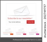 Light Subscribe To Newsletter...