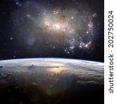 a beautiful nebula  the...