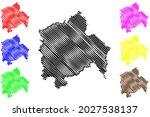 hameln pyrmont district ... | Shutterstock .eps vector #2027538137