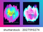electronic party. abstract... | Shutterstock .eps vector #2027593274