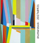 A Geometric Abstract Painting...