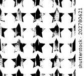 Painted Stars Pattern